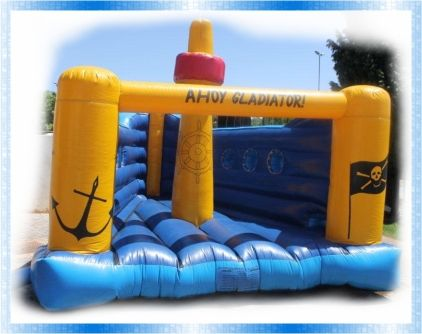 Pirate Boat Jumping Castle